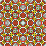 Seamless abstract medieval vector pattern Stock Images