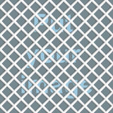 Seamless abstract mesh(grid) background - rhombus. Color white ceramic with shadows. Raised above the surface. Background can be changed under mesh (grid) stock illustration