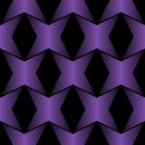 Seamless Abstract Metallic Pattern from Hexagons Stock Image