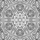 Seamless abstract african ornamental pattern Royalty Free Stock Images