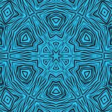 Seamless abstract african ornamental pattern Royalty Free Stock Photography