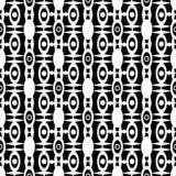 Seamless abstract modern geometrical pattern. Background Stock Illustration