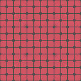 Seamless Abstract Modern Pattern from Circles and Lines Stock Photos
