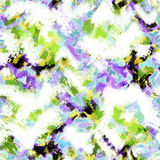 Seamless abstract modern pattern on white Royalty Free Stock Photo
