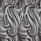 Seamless abstract monochrome pattern Stock Images