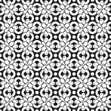 Seamless abstract monochrome pattern Stock Photo