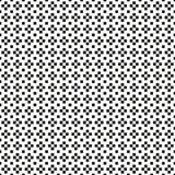 Seamless abstract monochrome plus or cross pattern with missing Royalty Free Stock Photo