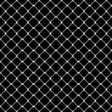 Seamless abstract monochrome square pattern - vector background design from diagonal rounded squares Royalty Free Stock Photography