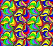 Seamless abstract multicolored pattern Royalty Free Stock Photo