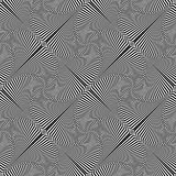 Seamless abstract op art pattern. Lines texture. Seamless abstract dop art pattern. Striped lines texture. Vector graphics stock illustration