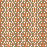 Fun Seamless abstract orange, blue and green texture fractal stock illustration