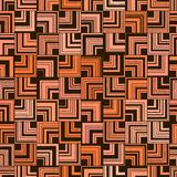 Seamless abstract orange pattern of square angle. vector illustration
