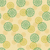 Seamless abstract ornament dots Royalty Free Stock Photography
