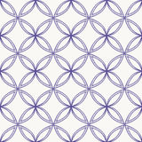Seamless abstract pattern. Blue on white background Royalty Free Stock Image