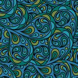 Seamless abstract pattern. Background with many details Stock Image