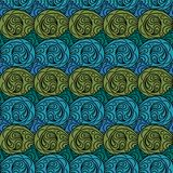 Seamless abstract pattern. Background with many details Royalty Free Stock Images