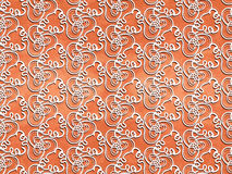 Seamless  abstract pattern on  background a terrac Stock Photography