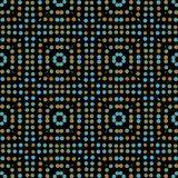Seamless abstract pattern background with a variety of colored circles. Aesthetic colorful background vector illustration