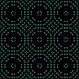 Seamless abstract pattern background with a variety of colored circles. vector illustration