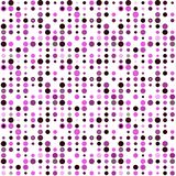 Seamless abstract pattern background with a variety of colored circles. Aesthetic color background. Aesthetic color background vector illustration