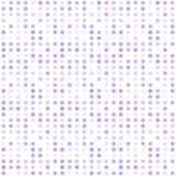 Seamless abstract pattern background with a variety of colored circles. Aesthetic colored background stock illustration