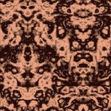 Seamless abstract pattern in beige and black tones Stock Photo