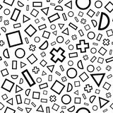 Seamless abstract pattern Stock Photo