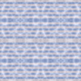Seamless abstract pattern in blue and beige tones. Seamless colored pattern was created and rendered in 3D application, processed in GIMP Royalty Free Illustration