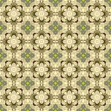 Seamless Abstract Pattern. A completely seamless abstract tile-able textile pattern stock photos