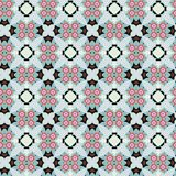 Seamless Abstract Pattern. A completely seamless abstract tile-able textile pattern stock photography