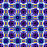 Seamless Abstract Pattern. A completely seamless abstract tile-able textile pattern royalty free stock photos