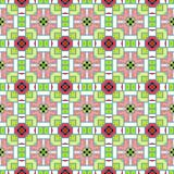 Seamless Abstract Pattern. A completely seamless abstract tile-able textile pattern royalty free stock images