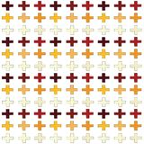 Seamless abstract pattern created from repetition of plus sign symbols. Seamless abstract pattern created from repetition of plus sign royalty free illustration