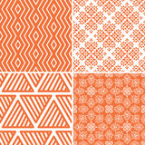 Seamless abstract pattern. Seamless decorative pattern with abstract ornament Royalty Free Stock Image