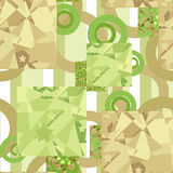 Seamless abstract pattern elements geometrical background Royalty Free Stock Photography