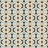 Seamless abstract pattern in ethnic style. Illustration for backgrounds, prints, design elements Stock Images