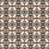 Seamless abstract pattern in ethnic style. Illustration for backgrounds, prints, design elements Royalty Free Stock Photos