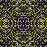 Seamless abstract pattern in ethnic style. Illustration for backgrounds, prints, design elements Stock Image