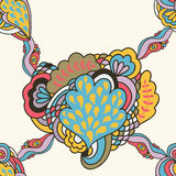 Seamless abstract pattern fantasy elements Royalty Free Stock Photo