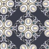 Seamless abstract pattern. Stock Image