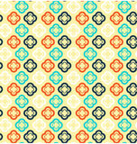 Seamless abstract pattern with flowers Royalty Free Stock Photo