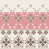 Seamless abstract pattern with geometric elements Stock Photo