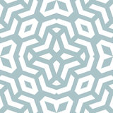 Seamless Abstract Pattern. Geometric fine abstract background. Seamless modern light blue and white pattern Stock Image
