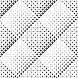 Seamless abstract pattern of geometric shapes. Halftone Stock Photo