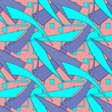 Seamless abstract pattern geometrical background Royalty Free Stock Image
