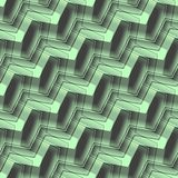 Seamless background pattern. Seamless abstract pattern with green and black curved lines Stock Photos