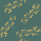 Seamless abstract pattern with green elements. Vector illustration Royalty Free Stock Images