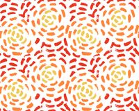 Seamless abstract pattern with hand drawn strokes vector illustration