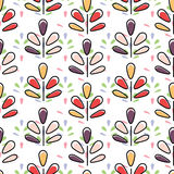 Seamless abstract pattern, illustration background Royalty Free Stock Image