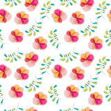 Seamless abstract pattern, illustration background Royalty Free Stock Photography